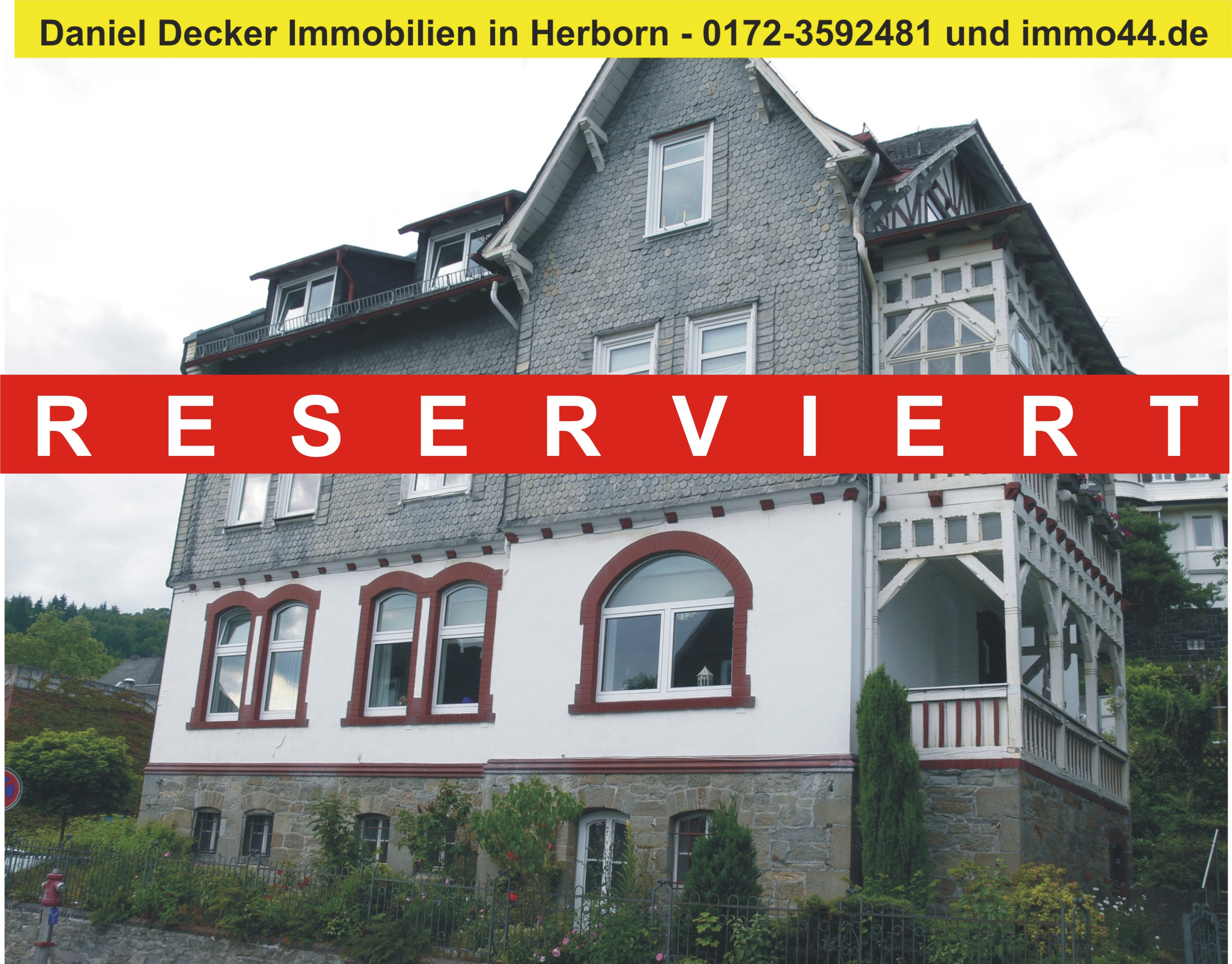 Decker Immobilien 3 familien haus in dillenburg